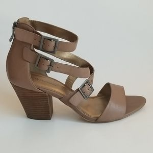 BCBGENERATION Block Heel Sandals, Size 10B